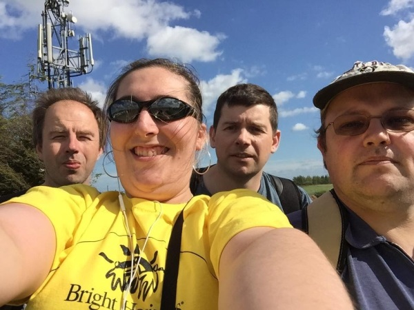Members of Barking & Dagenham Plus who took part in the sponsored Walk