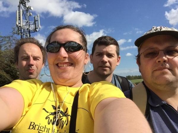 Members of Barking & Dagenham Plus who took part in the sponsored Walk